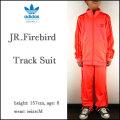アディダス/ジャージ上下/キッズ/adidas/ジュニア/子供/JR.FIREBIRD TRACK SUIT/レッド.Z/ファイアーバード トラックスーツ/originals
