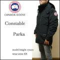 CANADA GOOSE/カナダグース/コンスタブル パーカ/ダウンジャケット/CONSTABLE PARKA/ブラック/4071M/DOWN
