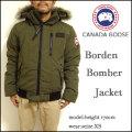 CANADA GOOSE/カナダグース/ボーデン ボマージャケット/ダウンジャケット/BORDEN BOMBER JACKET/グリーン/7968M/DOWN