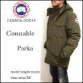 CANADA GOOSE/カナダグース/コンスタブル パーカ/ダウンジャケット/CONSTABLE PARKA/M.グリーン/4071M/DOWN