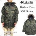 コロンビア COLUMBIA ダウンジャケット メンズ Barlow Pass 550 Turbo Down Jacket ダウンパーカー