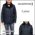 Mackintosh/マッキントッシュ/レディース コート/LUTON/ネイビー/ルトン 裏ボア キルティング フード ジャケット