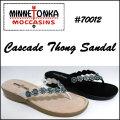 送料無料【MINNETONKA】ミネトンカ【70012 CASCADE THONG SANDAL】カスケード レザー トングサンダル