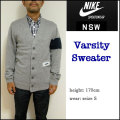 【NIKE NSW】ナイキ スポーツウェアー【VARSITY SWEATER】バーシティー セーター/カーディガン/NSW/382575-063