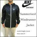 NIKE SPORTSWEAR/ナイキ/ウィンドランナー ジャケット/Summerized Windrunner Jacket/ブラック/パーカー
