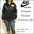 【NIKE SPORTSWEAR】ナイキ【Womens Hooded Destroyer Jacket/ブラック】レディース デストロイヤー ジャケット/ジップパーカ/394370