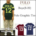 ラルフローレン/Ralph Lauren/Tシャツ/ボーイズ/キッズ/BOYS GRAPHIC TEE/フットボール ティーシャツ/メンズ/レディース