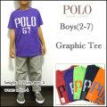 ラルフローレン/Ralph Lauren/キッズ/Tシャツ/ボーイズ(2-7)/Graphic T-SHIRT/子供 /ロゴプリント ティーシャツ
