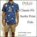 ラルフローレン/POLO Ralph Lauren/ポロシャツ/メンズ/クラシックフィット/Classic-Fit Surfer Print Polo/アロハ柄/サーファープリント