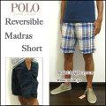 セール!Ralph Lauren/ラルフローレン/ハーフパンツ/Reversible Madras Short Pant/ネイビー/リバーシブル マドラス ショートパンツ