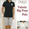 【Ralph Lauren GOLF】ラルフローレン ゴルフ【 Valeria  Big Pony Polo/2色展開 】レディース ビッグポニー ポロシャツ/女性用