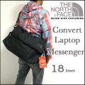 【THE NORTH FACE】ザ・ノースフェイス【CONVERT LAPTOP MESSENGER/黒】コンバート ラップトップ メッセンジャーバッグ/ショルダー