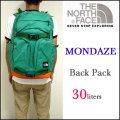 【THE NORTH FACE】ザ・ノースフェイス【MONDAZE back pack/B.グリーン】バックパック/デイパック/リュックサック