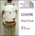 【THE NORTH FACE】ザ・ノースフェイス【LOAFER back pack/V.ホワイト】バックパック/デイパック/リュックサック