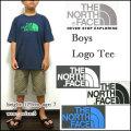 ノースフェイス/キッズ/Tシャツ/THE NORTH FACE/子供/BOYS LOGO TEE/ジュニア/ボーイズ ロゴ ティー