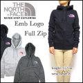 ノースフェイス/THE NORTH FACE/パーカー/レディース/Emb Logo FULL ZIP HOODIE/ジップフード/CX77