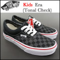 VANS/バンズ/キッズ/スニーカー/エラ/ERA(Tonal Check)/ジュニア/子供/スニーカー/シューズ
