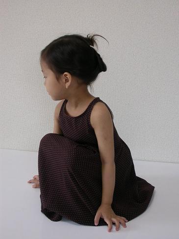 プリーテッドドレス