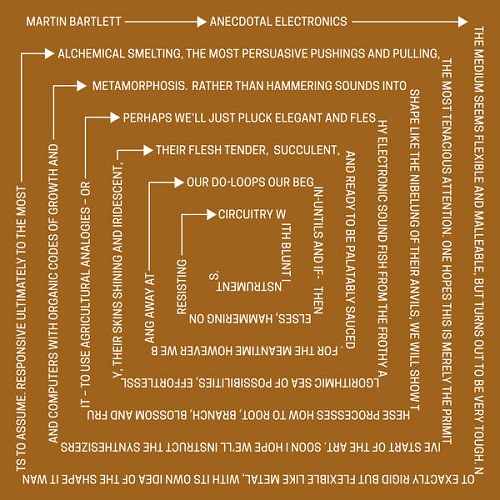 Martin Bartlett / Anecdotal Electronics: Live experiments & other recordings