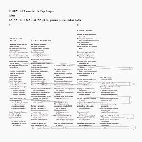 Pep Llopis / Poiemusia La Nau Dels Argonautes