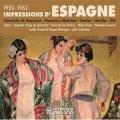 VA / Impression D' Espagne 1950-1962, Concierto De Aranjuez - Flamenco Sketches - Saetas - Sevilla - Ole