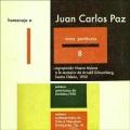 VA / Raras Partituras 8: Homenaje A Juan Carlos Paz (CD)