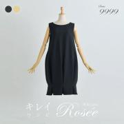 【キレイ ワンピ ロゼ】33-k20 color:ブラック,イエロー size:38(Sサイズ)7号,40(Mサイズ)9号,42(Lサイズ)11号