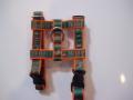 オリジナルロゴH型ハーネス  グリーンロゴ ×オレンジテープ