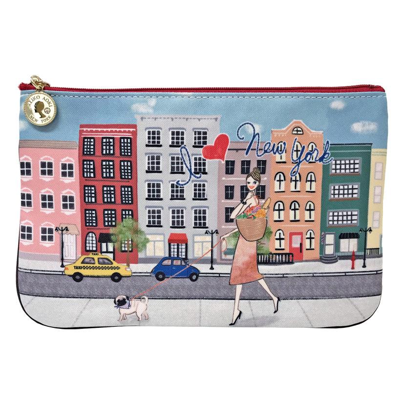 I heart New York フラットポーチ(8701-161)