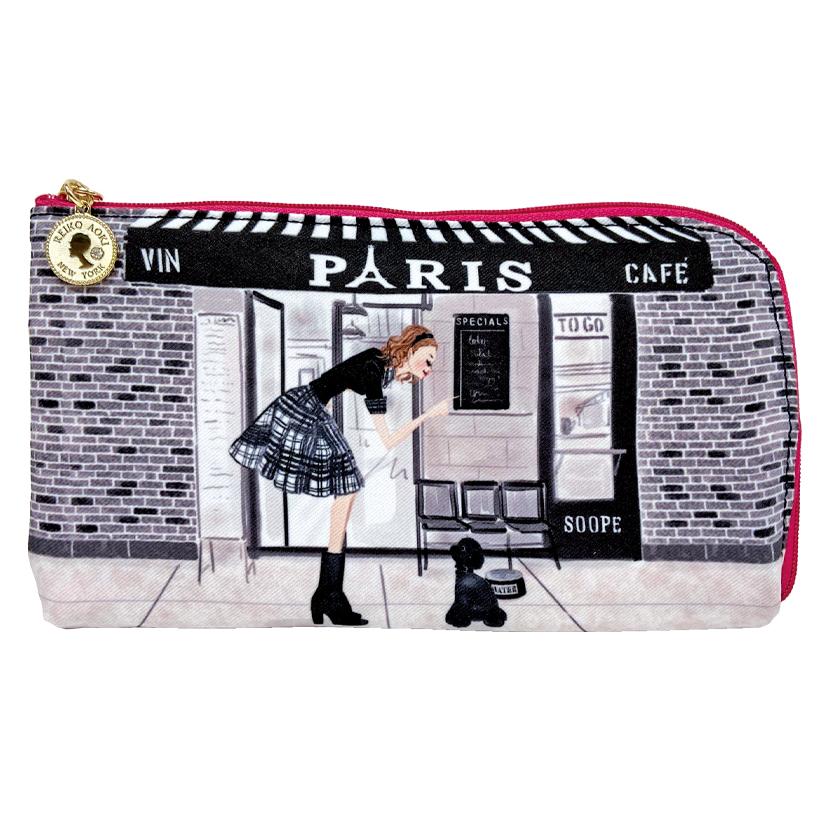 Cafe Paris L字ファスナーポーチ(8704-115)
