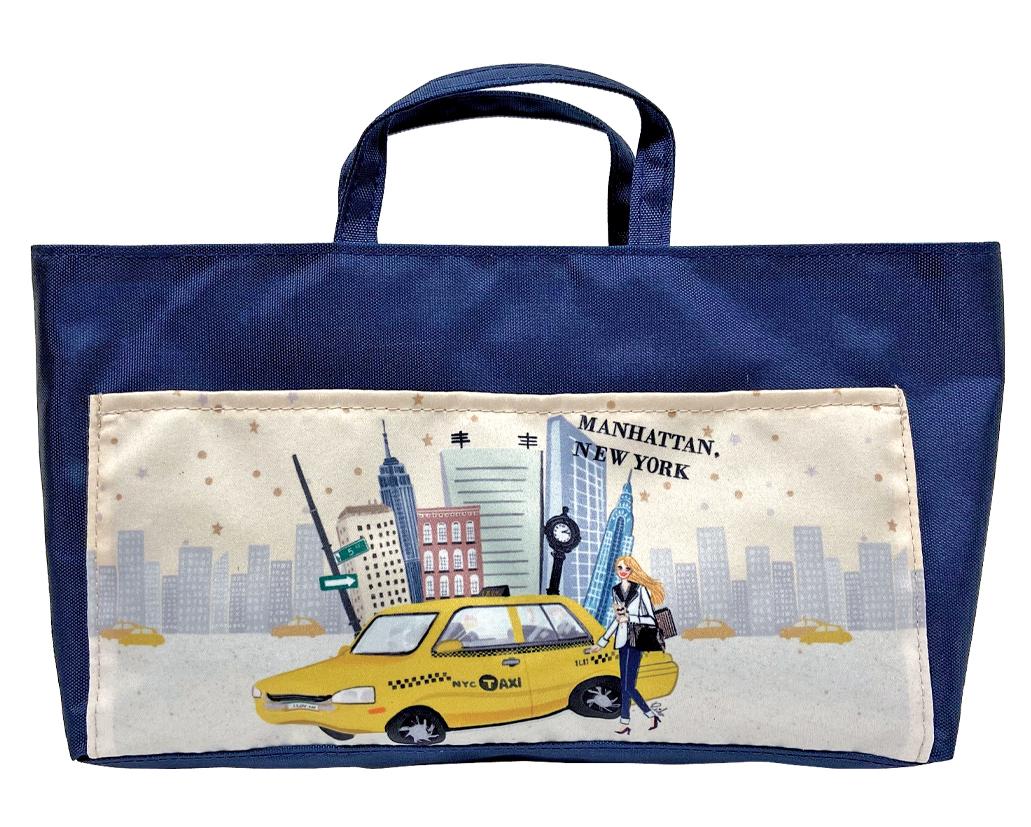 Manhattan Girl バッグインバッグ(8707-163)