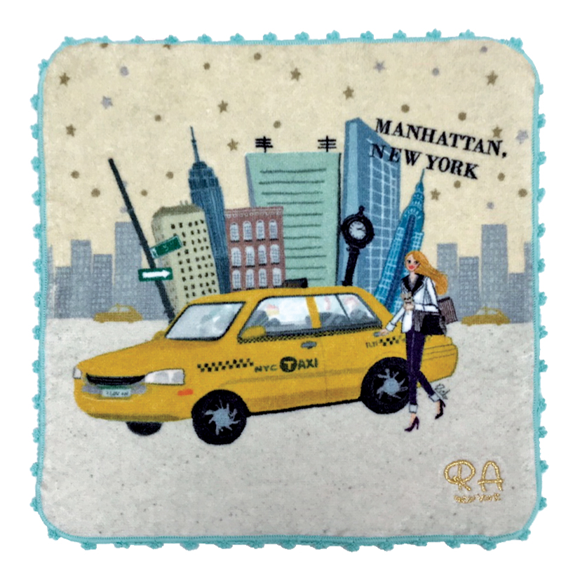 Manhattan Girl ハンドタオル