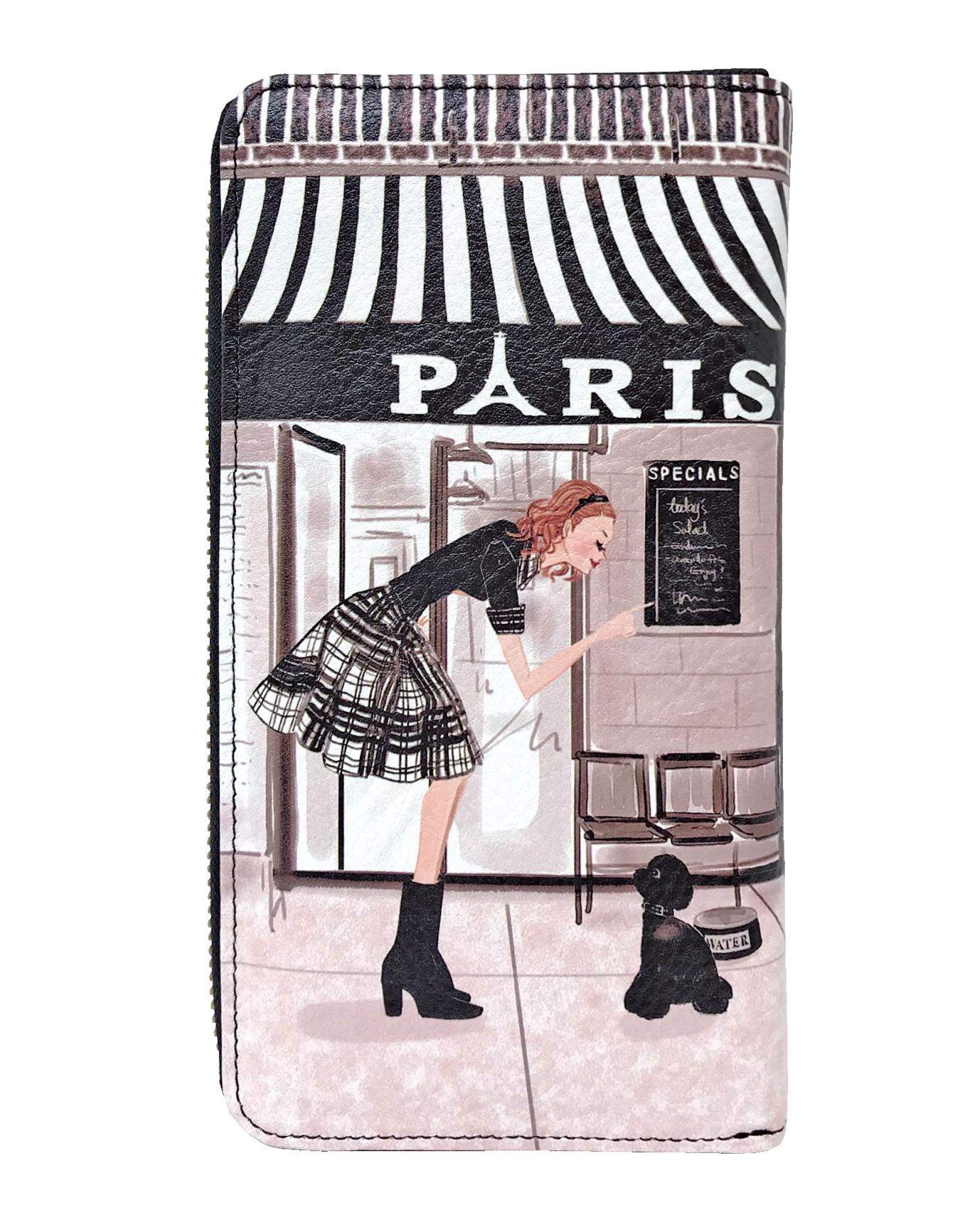 Cafe Paris ラウンドファスナー長財布