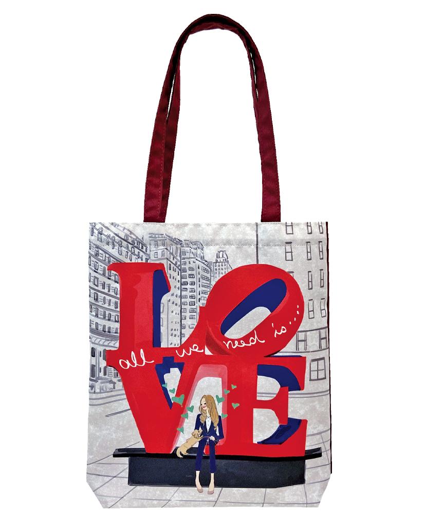 LOVE, NYC エコトート