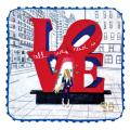 LOVE,NYC ハンドタオル