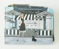 Brooklyn-cafe L字ファスナーミニ財布