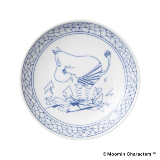 Moomin SOMETSUKE / ムーミン 染付 手塩皿 / Moomin
