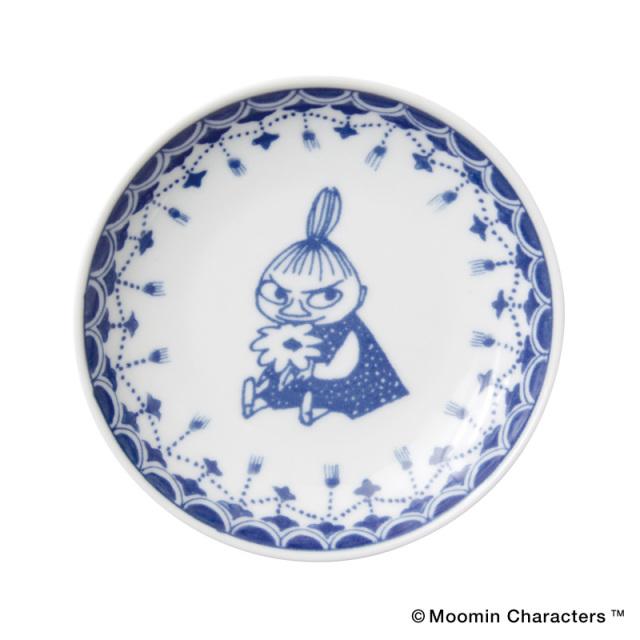 Moomin SOMETSUKE / ムーミン 染付 手塩皿 / Little My