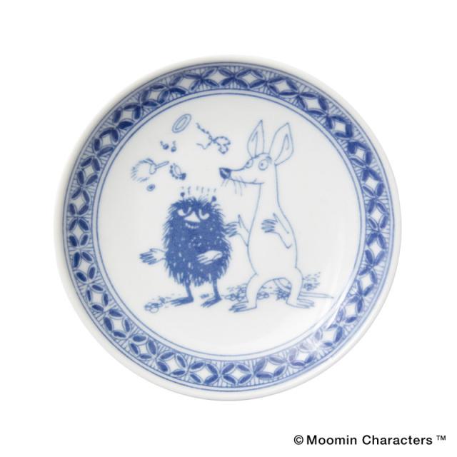 Moomin SOMETSUKE / ムーミン 染付 手塩皿 / Stinky&Sniff