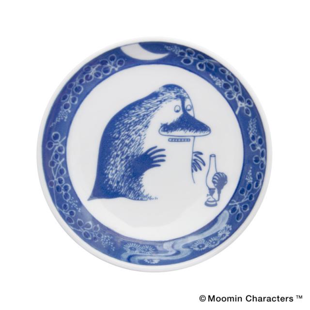 Moomin SOMETSUKE / ムーミン 染付 手塩皿 / The Groke