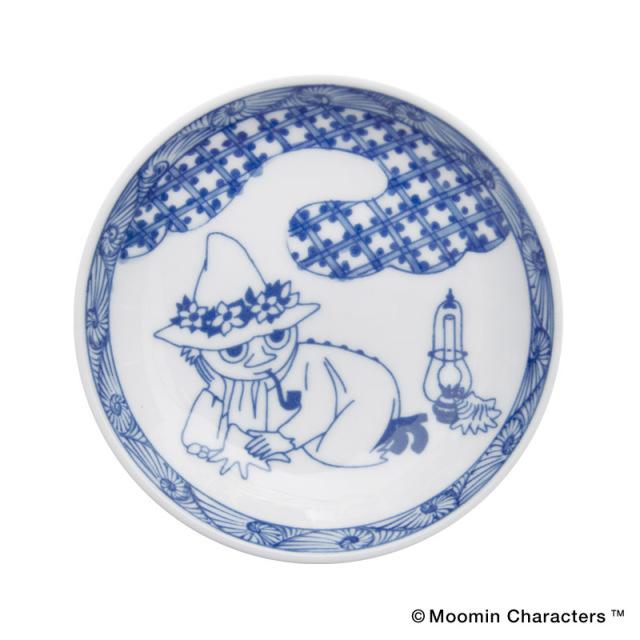 Moomin SOMETSUKE / ムーミン 染付 手塩皿 / Snufkin