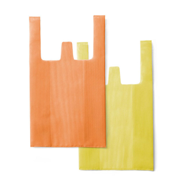 CONVENI BAG : コンビニバッグ / Orange × Yellow(L)