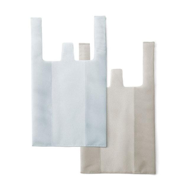 CONVENI BAG : コンビニバッグ / White × Gray(L)