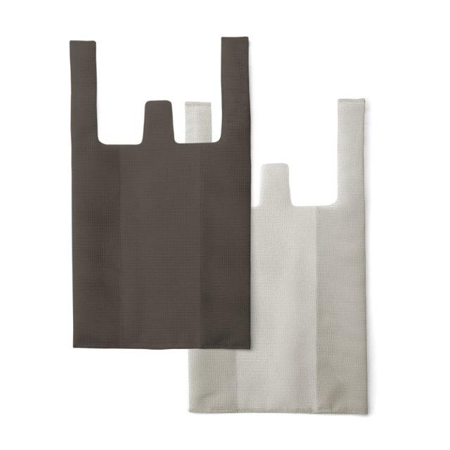 CONVENI BAG : コンビニバッグ / Brown × Gray(L)