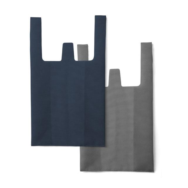 CONVENI BAG : コンビニバッグ / Navy × Dark Gray(L)