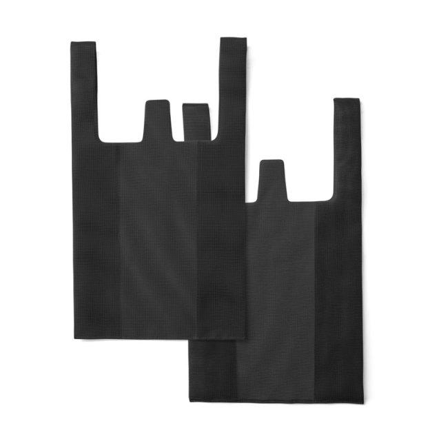 CONVENI BAG : コンビニバッグ / Black × Black(L)