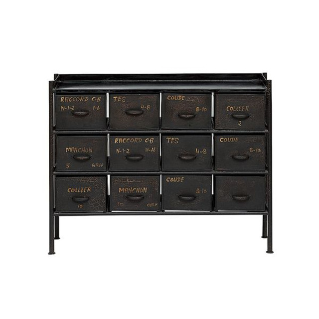 GUIDEL 12DRAWER CHEST WIDE(ギデル 12ドロワー チェスト ワイド)