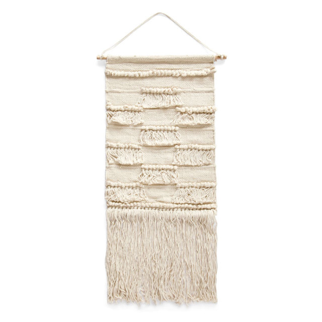 COTTON WALL HANGING-Fringe
