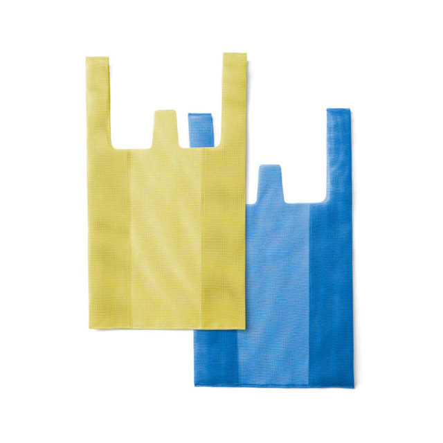 CONVENI BAG : コンビニバッグ / Yellow × Blue(S)