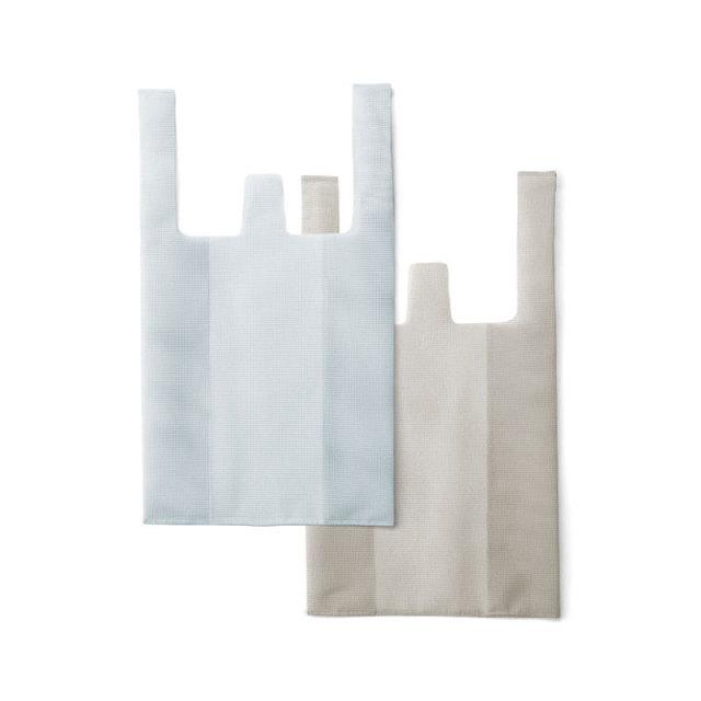 CONVENI BAG : コンビニバッグ / White × Gray(S)
